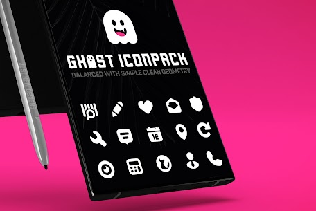 Ghost IconPack Mod Apk v1.2 (Patched) 1
