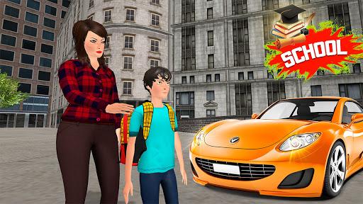 Working Mom Newspaper Girl Family Games  screenshots 5