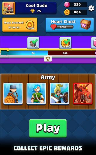 Merge War: Army Draft Battler apkpoly screenshots 19