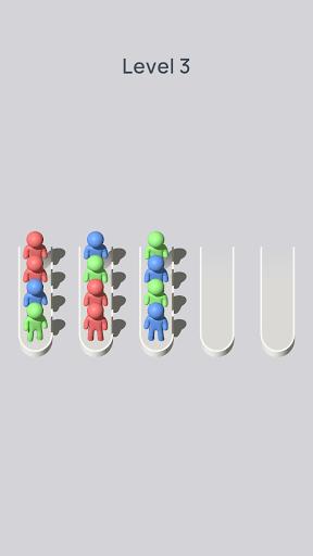 Crowd Sort - Color Sort & Fill  screenshots 2