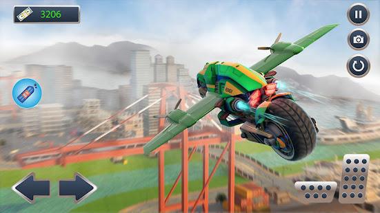 ultimate flying bike racing stunts-city moto drive hack
