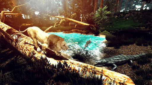 Wild Lion Simulator - Animal Family Survival Game  screenshots 3