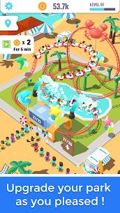 Idle Roller Coaster MOD APK (MOD, Unlimited Coins) 2