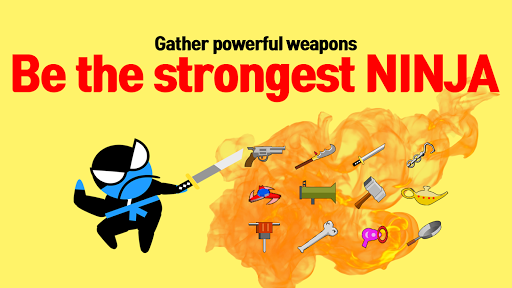 Jumping Ninja Battle - Two Player battle Action 3.98 screenshots 10