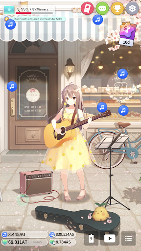 Guitar Girl : Relaxing Music Game 2.3.0 screenshots 8