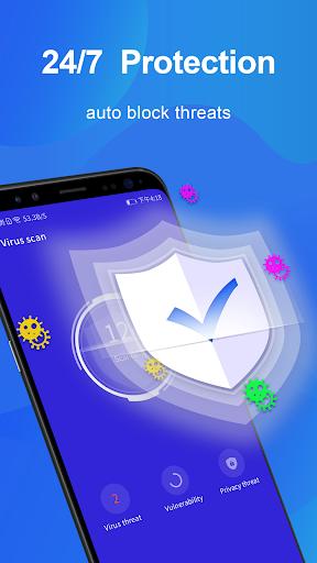 Super Antivirusu2013cleaner, Applock, Security,Booster 1.0.5 Screenshots 2