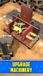 Scrapyard Tycoon Idle Game MOD APK Free Download [Unlimited Money] 2