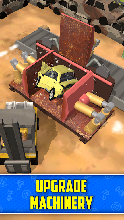 Scrapyard Tycoon Idle Game poster 1