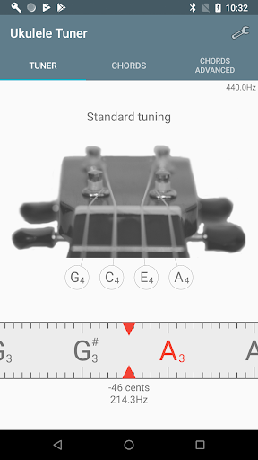 Ukulele Tuner 1.4.0 Screenshots 1