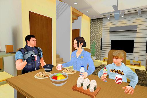 A Police Mom: Virtual Mother Simulator Family Life screenshots 8