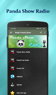 Panda Show Radio Screenshot