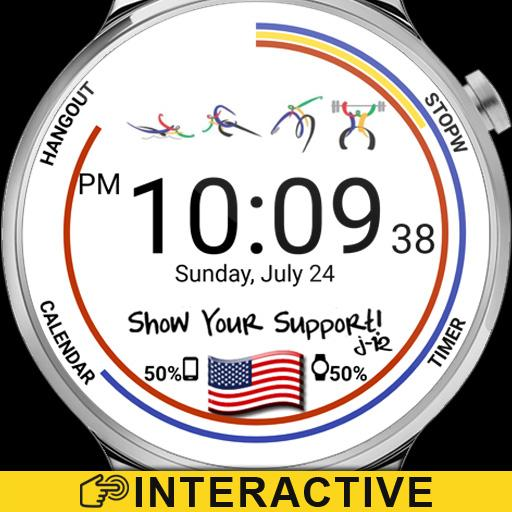 Rio Watch Face Icon