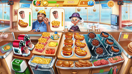 Cooking City: frenzy chef restaurant cooking games  screenshots 8