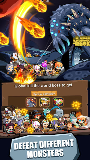 Tap Dungeon Hero:Idle Infinity RPG Game apktram screenshots 15