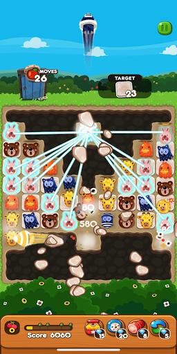 LINE PokoPoko - Play with POKOTA! Free puzzler!  screenshots 2