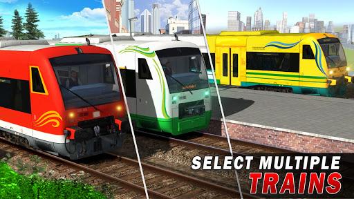 Train Driving Simulator 2020: New Train Games  screenshots 2
