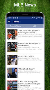 Baseball MLB Live Scores, Stats & Schedules 2020 8