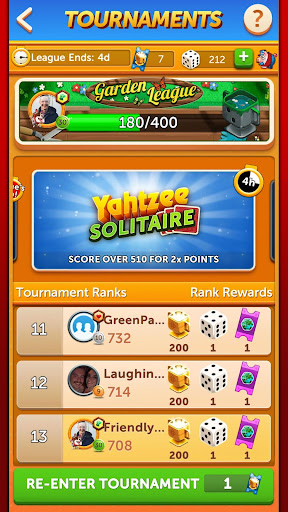 YAHTZEEu00ae With Buddies Dice Game 8.0.2 screenshots 8