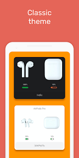 MaterialPods (AirPods for Android) Screenshot
