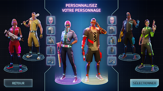Cyberika: RPG cyberpunk action screenshots apk mod 4