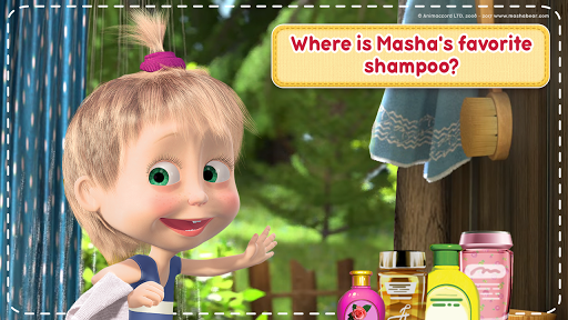 Masha and the Bear: House Cleaning Games for Girls 2.0.0 screenshots 4