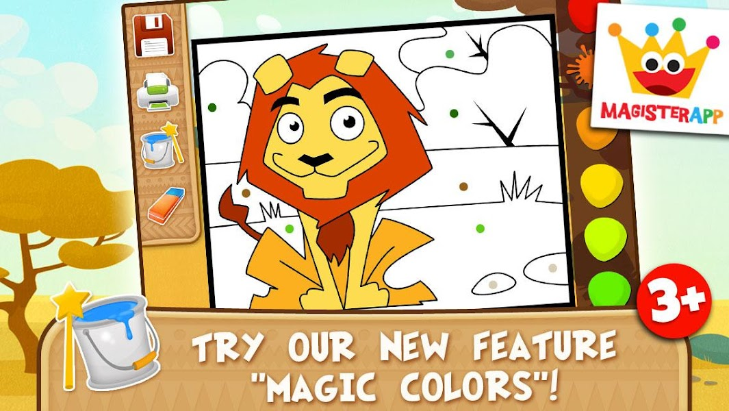 Africa Games for Kids - Animals Puzzles