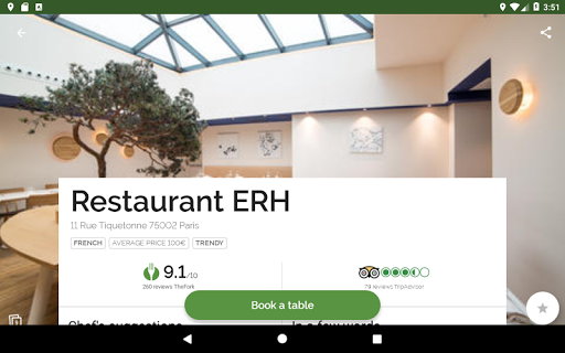 TheFork - Restaurants booking and special offers 17.2.1 Screenshots 13
