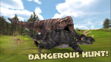 Hungry T-Rex: Island Dinosaur Hunt