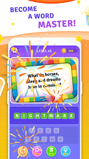 BrainBoom: Word Brain Games, Brain Test Word Games apkpoly screenshots 5
