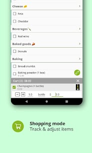 Grocery shopping list: BigBag Pro APK (PAID) Download 5