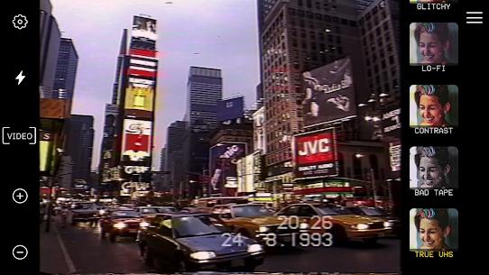 True VHS 🌌 – 80s Vintage camera & glitch editor 4