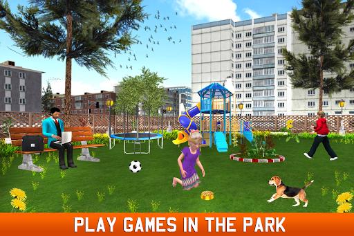 Virtual Single Dad Simulator: Happy Father apkpoly screenshots 3