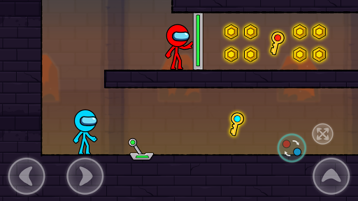 Red and Blue Stickman : Season 2 android2mod screenshots 1