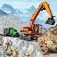 Snow Offroad Construction Excavator