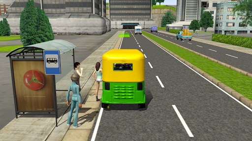 Tuk Tuk Rickshaw City Driving Simulator 2020  screenshots 12