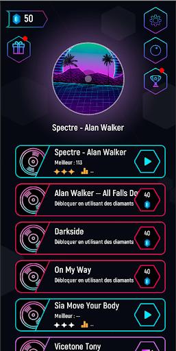 Alan Walker Tiles Hop EDM 1.2 Screenshots 1