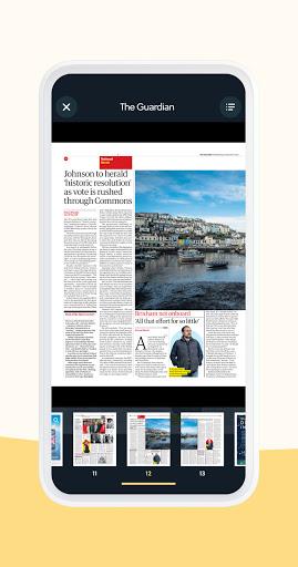 CAFEYN u2013 Online magazine subscriptions 4.10.2 Screenshots 4