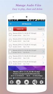 Super Voice Recorder  for PC – Windows 7, 8, 10 – Free Download 2