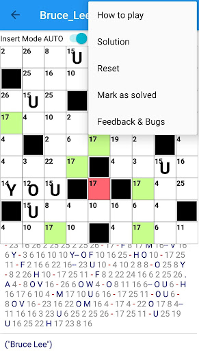 Codeword Puzzles Word games, fun Cipher crosswords 7.5 screenshots 8