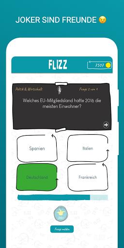 FLIZZ Quiz - Deine neue Mehrspieler Quiz App 3.500 screenshots 4