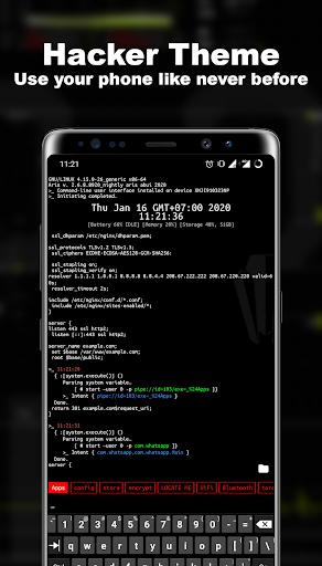 Termux Launcher - Aris Hacker Theme  screenshots 1