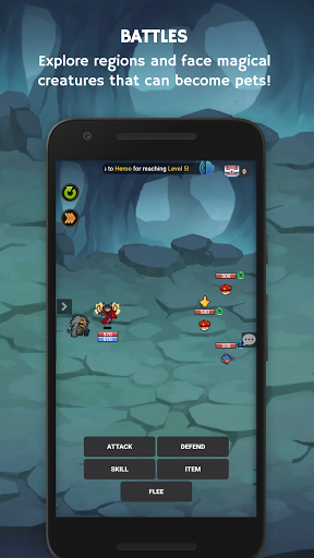 Mana Storia - Simple Browser MMORPG (Beta) 1.3 screenshots 2