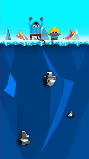 moe&joe - rope and swing game screenshot 2
