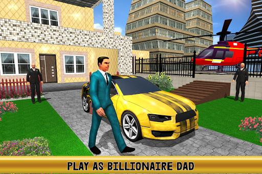 Virtual Billionaire Dad Simulator: Luxury Family android2mod screenshots 1