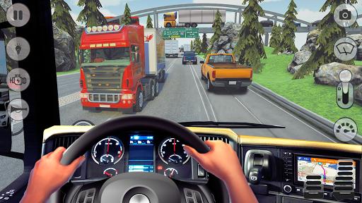 In Truck Driving: Euro new Truck 2020 1.5 screenshots 9