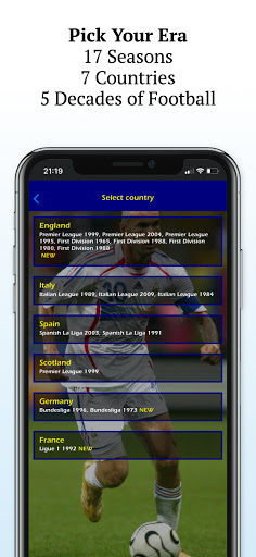 Retro Football Management - Be a Football Manager  screenshots 2