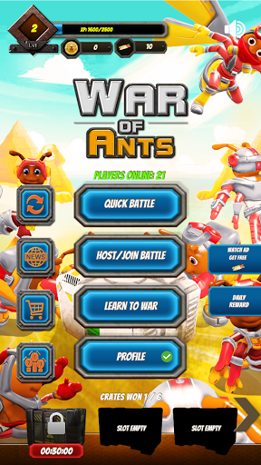 War of Ants - Blockchain Game  screenshots 2