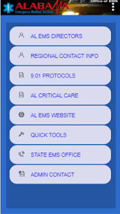 ALABAMA EMS PORTAL Screenshot