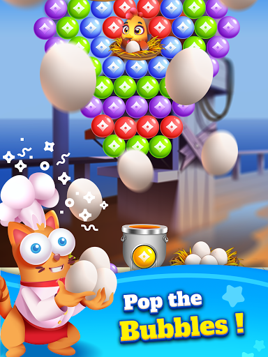 Kitten Games - Bubble Shooter Cooking Game apkmr screenshots 10
