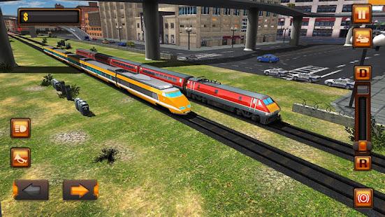 City Train Driver Simulator 2021:Free Train Games 10.8 Screenshots 9